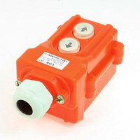 Cheap Hoist Crane Push Button Switch Up Down 2 Ways AC 250V 5A 500V 2A order<$18no track