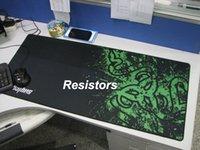 Wholesale 900 MM Large XL Size Razer Goliathus Mantis Control Game Mouse Pad Mat Locked