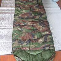 Wholesale 2014 Wear resistant Elaborate Adult Patrol Intermediate Sleeping Bag High Quality Military Camouflage Camping Sleeping Bags