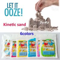 magic sand - ORIGINAL High Quality Kinetic play Sand packs colors Magic Sand Moon Sand Moving in Motion Mess Free Play Sand