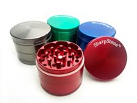 grinders - Sharp Stone herb metal grinder SharpStone parts Hard top tobacco Grinders Diameter mm mm mm mm colors grinder tobacco