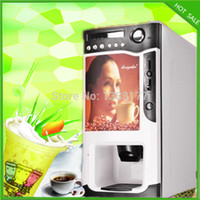 automatic coffee vending machine - in automatic cup falling coin milk tea fruit juice coffee maker coffee vending machine