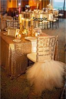Wholesale Chairs Lights - 2015 For Sample Link Lace Tulle Chair Sashes Chair Covers 09