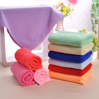Wholesale 5pcs set Mixed Color Microfiber Car Cleaning Towel Kitchen Washing Polishing Cloth LY516