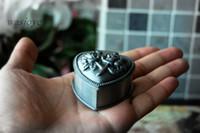 antique wooden buckets - Vintage jewelry box princess European South Korea rose non real love luxury wooden jewelry box small jewelry