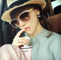 pink sunglasses - Star Sunglasses Crystal Transparent Pink Sunglasses Fashion Big Glasses Women Sunglasses Retro Sunglasses A281