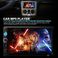Cheap 7 Inch HD Bluetooth 1080P Car Stereo MP5 Player Touchscreen MP3 FM Radio Double-DIN Support USB   SD Card CMO_207