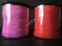 Wholesale The end of the belt ribbon cable ties red pink plastic colored ribbon birthday cake order lt no track