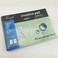 acid import - Feng Li Watercolor Pad Painting Paper France Imported Paper Acid Free Rough g K Pages For Wet Technic Art Supplies