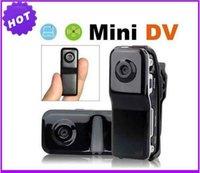 Wholesale for MD80 BLACK SSK MINI DV camera mini dv player recorder video camera HIDDEN camera mini camcorder MD80