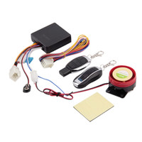 Wholesale Set Scooter Alarm System Motor Lock Safety Remote Control Anti Theft Moped Hot Worldwide