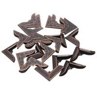Wholesale 25PCS Metal Book Corner Protectors mm X mm Scrapbooking Folder Albums Big