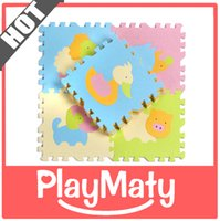 baby floor cushion - Foam material floor mat for nursery school mat baby game kid mat cushion cartoon Antibacterial kid foam preschool infant carpet