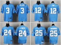 Cheap American Football Jerseys Best Russell Wilson
