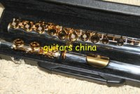 Wholesale 2015 New Flute Matte gold holes carved flute Perfect