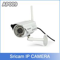 bullets - Sricam P HD P2P Bullet Outdoor IP Camera wifi Wireless Security Camera Waterproof Night Vision IR m Lens mm built in IR cut