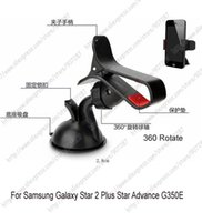 advance mounts - New car mount cradle stand holder case For Samsung Galaxy Star Plus Star Advance G350E Note Edge Grand Prime G530H G5308W