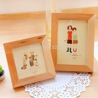 Wholesale 15 cm The original life IKEA Sen wood frame upright frame creative fruit picture frame hanging wall table order lt no track