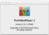 ProVideoPlayer 2 / 1.4.3 pour Mac prend en charge la dernière version audio et vidéo en direct 10.10.2 logiciel d'édition peut être mis en réseau sans flash retour