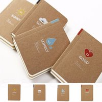 Wholesale Mini Notebook Diary Memo Paper Journal Book Sketchbook Blank Notepad Stationery