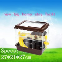 animal travel cages - 2015 New animal cage multicolor pet gaiola large hamster cages Travel carry hamster cages