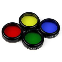 Wholesale 4pcs Inch Set Of Color Telescope Eyepiece Color Filter Set For Astrophotography Telescope W2153A