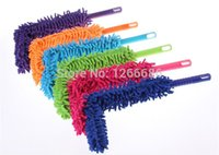Wholesale 50pcs Microfiber Cleaning Duster Flexible Anti Static Dust Cleaner