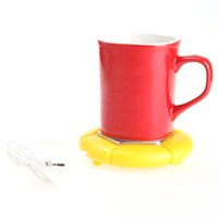 Wholesale USB Electronics Novelty Gift Powered Cup Mug Warmer Coffee Tea Drink Heater Tray Pad C1538Z