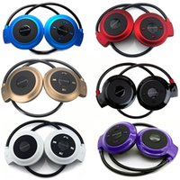 Wholesale Hot Sale Multicolor Mini Sports Wireless Bluetooth Stereo Headset Earphone Music Player Computer Headphones MP3 FM with Microphone