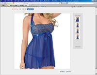 Wholesale Sexy Lingerie female pure Dress sexy lingerie chest a temptation to transparent