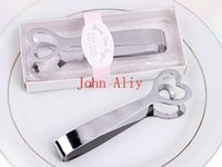Wholesale Hot Sale sets Wedding Favors quot Give me Some Sugar quot Stainless Steel Heart Themed Sugar Tongs
