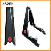 Wholesale Aroma AUS ABS Small Size Foldable Guitar Stand Holder For Instrument Violin Ukulele Mandolin Via DHL