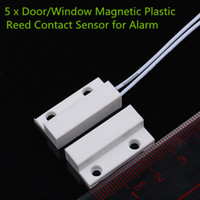 best window alarms - 5 x Door Window Magnetic Plastic Reed Contact Sensor for Alarm Description For more security at home and in the workplace is best to us