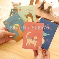 Wholesale Korea stationery Pretty kawaii country series design Mini notebook cute animal book diary travel journal fashion gifts