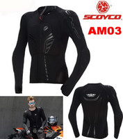 armor shoulders - Scoyco motorcyclists ARMOR drop resistance Clothing Wicking Riding protective gear CE protectors Shoulders Back care Chest protector AM03