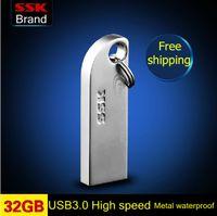 Wholesale New Thumbdrives GB USB large usb flash drives pen drive metal high speed usb flash drives waterproof