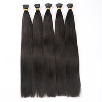 Wholesale 1g strand strands Pack Color B Malaysian Remy Italian Kertain I Tip Hair Extension Cold Fusion Hair Extension