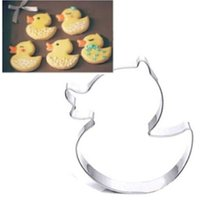 baking duck - FD2792 Duck Stainless Steel Cookie Cutter Cake Baking Mould Biscuit X mas Gift