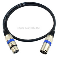 balanced xlr cables - Top Quality M XLR balanced line XLR Male to Female Audio Cable Microphone Cable Microphone Mixer Line mic cable