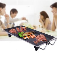 Wholesale Brand New electric BBQ grill temperature controlled non stick and smokeless
