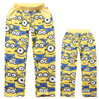 baby thermal pants - baby minions sweat pants Minions Boys Trousers Cotton Despicable Me Kids Spring Autumn Cartoon Trousers fleece thermal trousers D1688