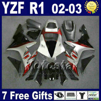 fairing r1 - Red silver Body for YAMAHA YZF R1 fairings set Injection molded kit r1 fairing kits ABS bodywork RD