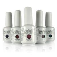 Wholesale Gelish Nail Polish Soak Off UV LED Nail Gel Polish Colors ml UV Nail Gel Lacquer Varnish