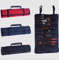 Wholesale Drum typeTool bag Electric tool pockets not include tool Canvas Oxford cloth storage bag wrench packaging