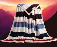 bed sheet and blankets - 10PCS LJJH1010 Method of coral fleece blankets wool flannel blanket Flag blankets to keep warm bed sheets and towels blanket that gift
