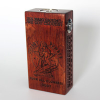 Wholesale Post free APC Cherry bomb MOD wood box mod APC box mod fit for battery Vape Mod e cigarette Electronic Cigarette Ecig waitingyou