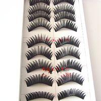 Wholesale Hot Makeup false eyelashes naturally slim thick piece