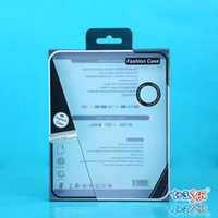 Wholesale New LCpad PVC Black Retail Package Transparent Packing Box MIUI Mobile Phone Case Packing Box fit for Within inch ipad Mini Air