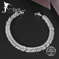 Wholesale Hot selling high quality K white gold plated bracelets Double row beautiful diamond party jewelry
