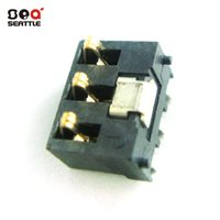 Wholesale PCB factory direct high quality gold plated copper battery holder rectangular injection shrapnel battery holder